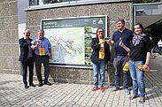 Eröffunung der Durlacher Weinwanderwege. Foto: cg