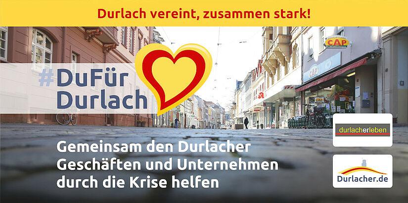 #StayAtHome – Durlacher Geschäfte und Unternehmen unterstützen. Foto: cg