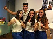 Auszubildende des Hotels Der Blaue Reiter übernehmen Verantwortung. Foto: pm
