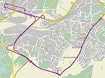 Schienenersatzverkehr am 3. Juni 2017 nach Durlach