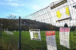 Gelände der DJK Durlach. Foto: cg