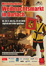 Mittelalterlicher Weihnachtsmarkt 2019. Grafik: pm