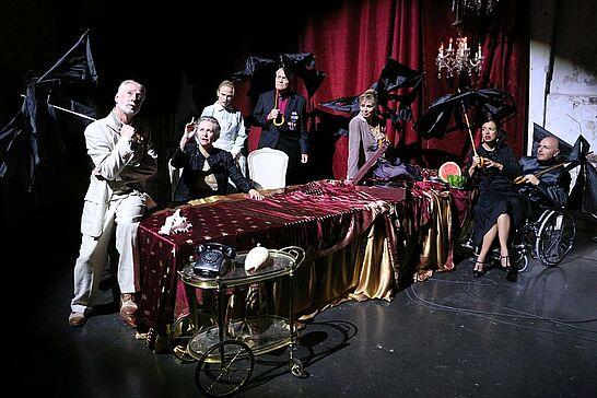 """30 Theater in der Orgelfabrik: """"Zerbrochene Spiegel der Erinnerung"""" - Auch in diesem Jahr freut sich das Ensemble, seine Gäste in der Durlacher Orgelfabrik begrüßen zu dürfen. (96 Fotos)"""