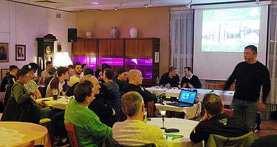 Mitgliederversammlung der SpVgg Durlach-Aue. Foto: pm