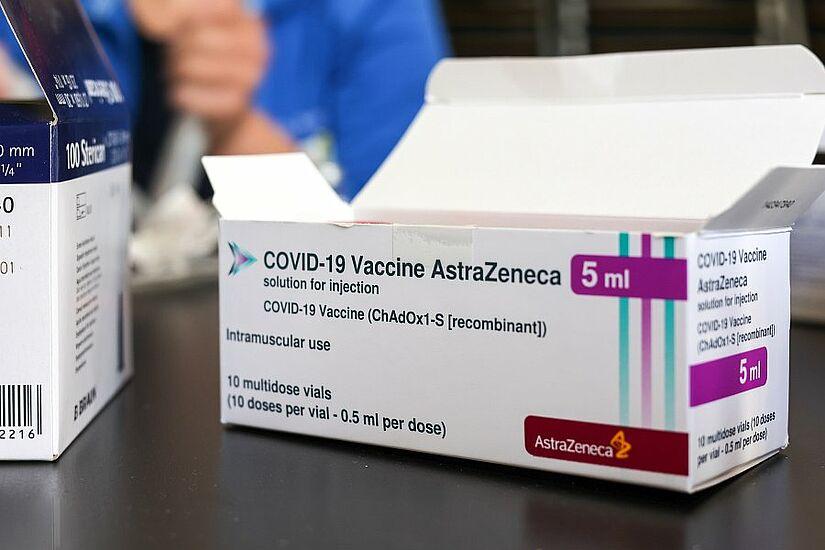 AstraZeneca wird am Samstag in Hohenwettersbach verimpft. Foto: cg