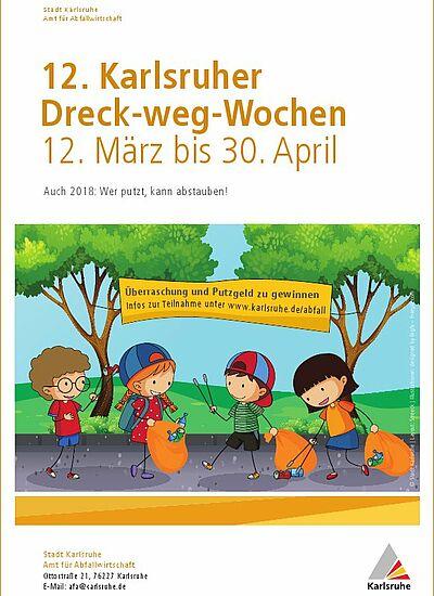 Jetzt für Dreck-weg-Wochen anmelden. Grafik: pia