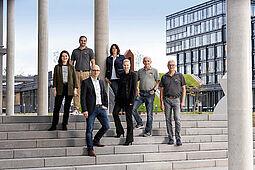 Das RaumFabrik-Team. Foto: pm