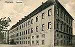 Karlsburg als Kaserne, um 1910