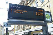Fahrgastverband PRO BAHN gegen Kürzungen beim Öffentlichen Verkehr. Foto: om