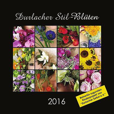 Durlacher Stil-Blüten Kalender – wir helfen unseren Kindern! Grafik: pm