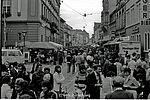 Einweihung der Fußgängerzone, 1977. Foto: sade