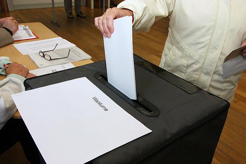 Wahlgang mit besonderen Vorkehrungen in diesem Jahr (Symbolbild). Foto: cg