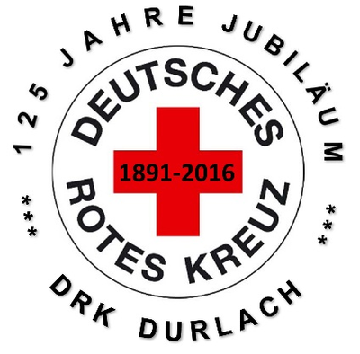 125 Jahre Rotes Kreuz Durlach. Grafik: pm