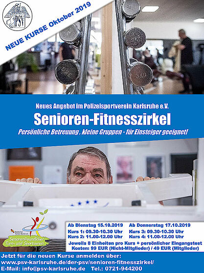 Der Senioren-Fitnesszirkel. Grafik: pm