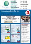 Rundum gesund Apotheken: Aktionen und Angebote im Juni 2018. Grafik: pm