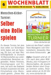 Wochenblatt - Das Journal für die Region | 19. Juni 2013