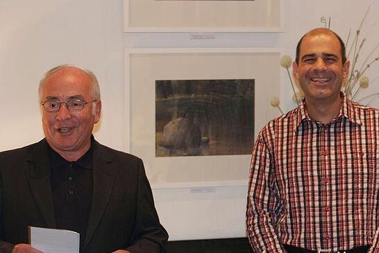 """08 Werke von Jens Lowinger (Vernissage) - Pastellbilder unter dem Motto """"Landschaft im Licht"""" sind noch bis Mitte November im Café Kehrle zu sehen. (20 Fotos)"""