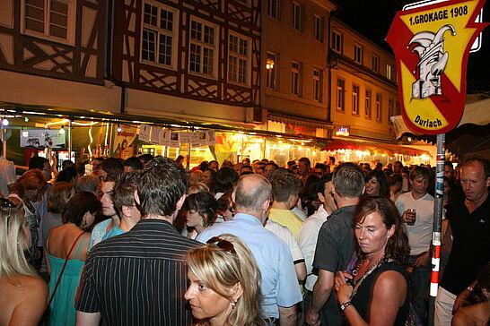 Juli - Im Juli jagte eine Großveranstaltung die andere: Altstadtfest, Klassik am Turm, 900 Jahre Aue - und dann noch die heiße Phase der Fußball-WM.