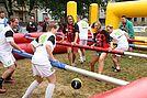 Menschen-Kicker-Turnier 2014. Foto: cg