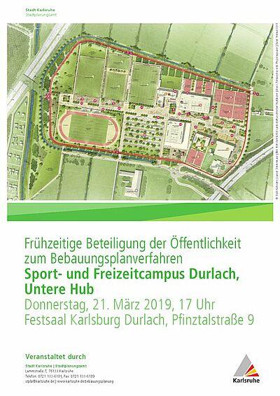 Sport- und Freizeitpark: Frühzeitige Beteiligung der Öffentlichkeit. Grafik: pm