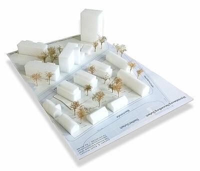 Modell der Baumaßnahme Schinnrainstraße. Grafik: pm