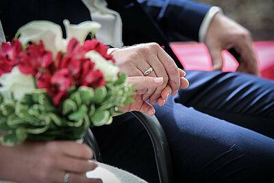 Heiraten in Durlach. Foto: cg