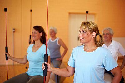 Fit werden und fit bleiben. Foto: pm
