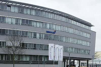 """""""Fiducia & GAD IT"""" in Durlach heißt jetzt """"Atruvia"""". Foto: cg"""