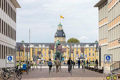 Die Zukunft schon heute gestalten: Im Smart City Index 2020 landete Karlsruhe auf einen guten fünften Platz. Foto: cg