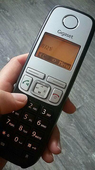 Bürger-Hotline ist zentrale Nummer. Foto: cg