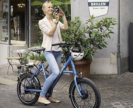 i:SY Fahrräder bei Velorep. Foto: pm