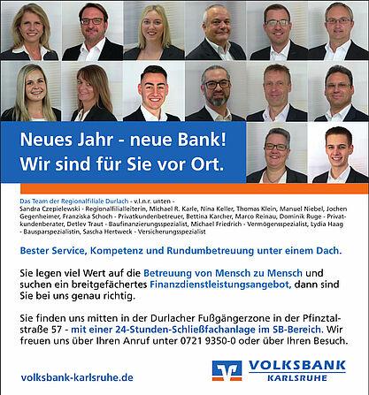 Neues Jahr – neue Bank! Grafik: pm