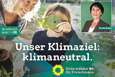 Für Klimaschutz und Zusammenhalt. Grafik: pm