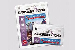 Karlsruher Kind: Ausgabe Oktober 2020. Grafik: pm