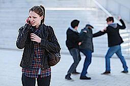 Respektvoll miteinander - gewaltfrei gegeneinander. Foto: Polizeiliche Kriminalprävention der Länder und des Bundes