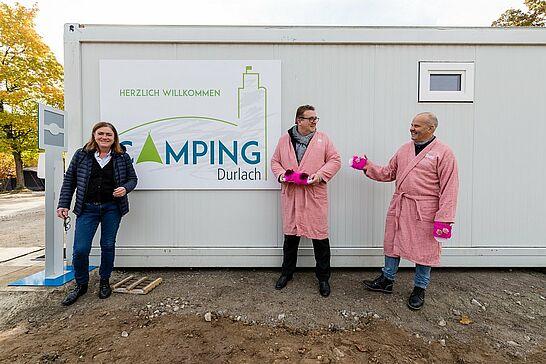 """20 Campingplatz Durlach eröffnet! - Nach umfangreichen Umbauarbeiten öffnet der """"Camping Durlach"""" das erste Mal seine Pforten für Übernachtungsgäste. (1 Video/15 Fotos)"""