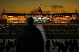 2020 finden die SCHLOSSLICHTSPIELE Karlsruhe virtuell statt. Foto: pm