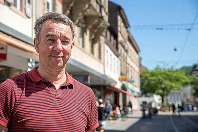 Oberstudiendirektor Hannes Ludwig, Schulleiter der Heinrich-Hübsch-Schule. Foto: cg