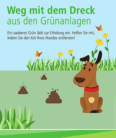 """""""Weg mit dem Dreck"""" für mehr Sauberkeit. Grafik: pm"""