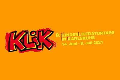 Die neunte Ausgabe der Karlsruher Kinderliteraturtage (KLiK) findet online vom 14. Juni bis 7. Juli statt. Grafik: pm