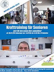 Krafttraining für Senioren in Durlach. Grafik: pm