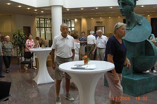 02 Sommertour bei der Volksbank Durlach - Die Bürgergemeinschaft Durlach und Aue 1892 e.V. besuchte die Volksbank Durlach. (18 Fotos)