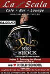 Party jeden 1. Samstag im Monat im La Scala. Grafik: pm
