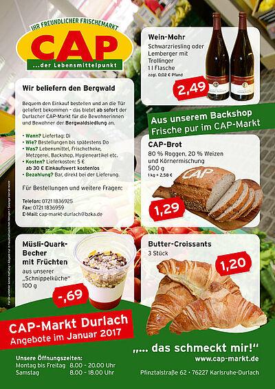 CAP-Markt: Angebote im Januar 2017