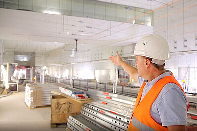 """In die Haltestelle Lammstraße führt der """"Tag der offenen Baustelle"""" die Besucher am 10. Oktober von 10 bis 22 Uhr. Foto: cg"""