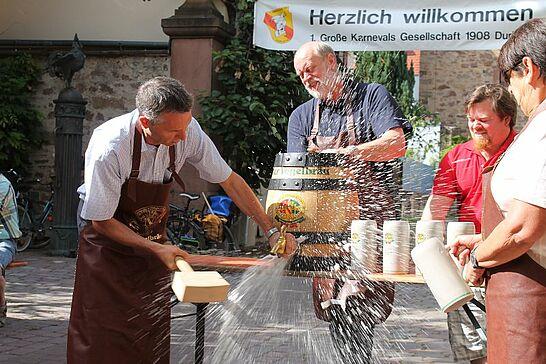 14 Basler-Tor-Fest - Am 14. und 15. Juni 2014 fand wieder das traditionelle Basler-Tor-Fest der 1. Großen Karnevalsgesellschaft 08 Durlach statt. (8 Fotos)