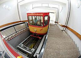Turmbergbahn: Bergstation. Foto: cg