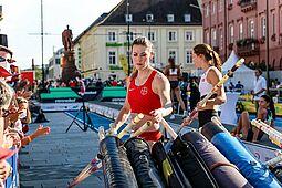 """04.09.2021   """"Karlsruhe springt"""": Stabhochsprung der Frauen. Foto: cg"""