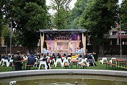 """Kammertheater Karlsruhe: """"Traumschöff"""". Foto: cg"""