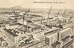 Nähmaschinenfabrik Gritzner, um 1900